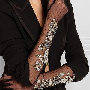 Dolce and Gabbana Crystal Pont d'espirit Gloves